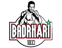 Badr Hari Logo Design