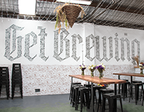 Get Brewing: 2nd Mural