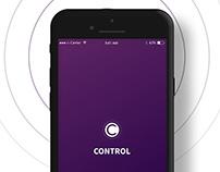 Control Home ui/ux