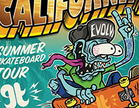 EVOLVE SKATE CAMP - CALIFORNIA