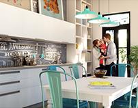 Perpetua Kitchen 3D