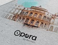 Identité visuelle - Opéra de Rennes