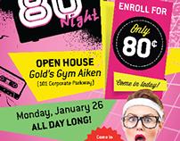 Newspaper Ads: Gold's Gym
