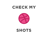 check my dribbble profile for recent work