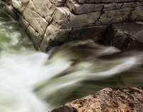 Water in Motion - Ashlu Creek, Squamish Valley, BC