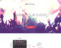 Eventchat app design