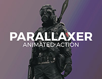 Parallaxer Animated Photoshop Action