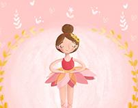 Pinky Ballerina·Ilustration·