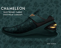 'CHAMELEON' Electronic Fabric Footwear Concept