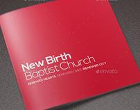 Core Values Church Brochure Template