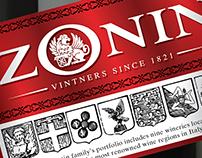 Zonin, wine