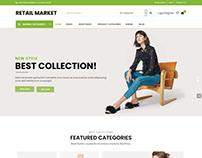 Retail Market - Multi Vendor WordPress Theme