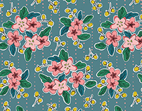 Verbascum Pencil (Real Fabric)