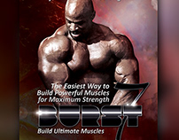 Free - BodyBuilding Book Cover Template