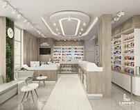 Doğa Eczanesi, Pharmacy Interior