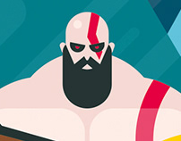 God of War fan-art