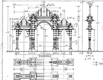 Art Direction/ Set design drawings