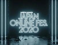 JAPANJAPAN ONLINE FESTIVAL 2020