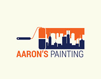 Aaron's Painting - Logo Concept