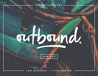Outbound - Signature Typeface
