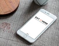 Eat Here - App