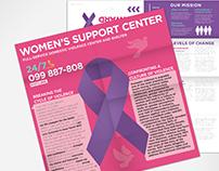 Women's Support Center – Brochures