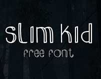 Slim Kid - A Free Font