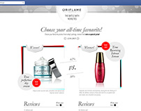 Choose the product- Oriflame