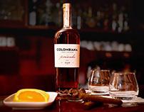 Colombiana Privado Rum | Label