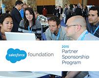 Salesforce Foundation 2015 Sponsorship Program Design