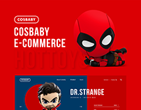 COSBABY - Figure Toy Shop concept design