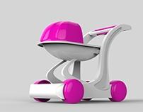 LYRA - Baby Stroller Toy