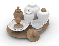 Ming Spices' Set