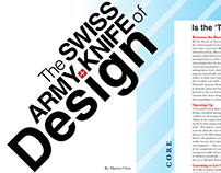 Swiss Army Knife of Design