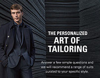 Hugo Boss - The Art of Tailoring
