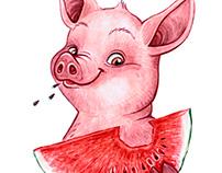 Calendar pig 2019