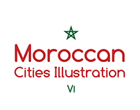 Moroccan Cities Illustration v1