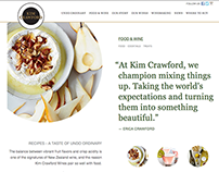 Kim Crawford Website