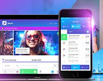 Shyft - Mobile App and Online Platform