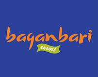 Baganbari Resort Logo, Print & Social Media Content