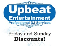Signage for Upbeat Entertainment