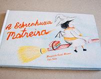 Book Design - A Esbrenhuxa Matreira