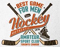 Authentic Hockey Emblems