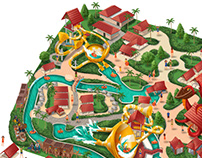 Theme Park Map | Desaru Coast Adventure Park