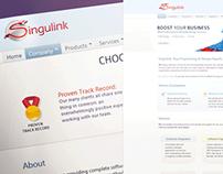 Singulink - Logo and Website Design
