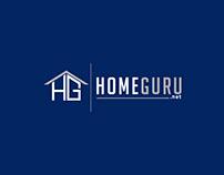 Home Guru Company Logo Design