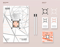 Nova Fora logo, identity and brochure (2016)