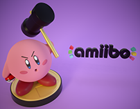 Kirby Amiibo - New 3D Design