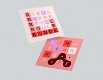 Typographie Ronmécarré