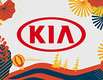 KIA MOTORS-Illustration
